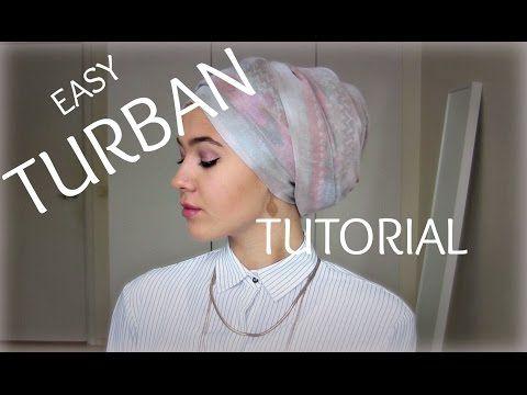 Easy Turban Tutorial   MissShumi - YouTube