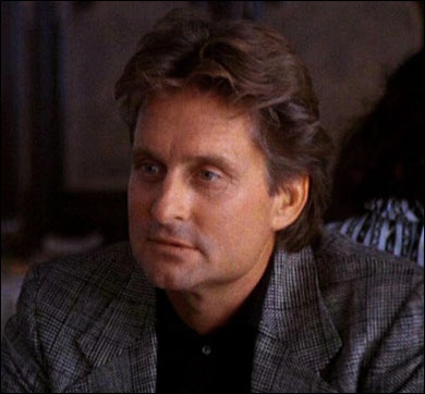 Even as an adulterer, Michael Douglas was devilishly handsome in 'Fatal Attraction.' Must've been the cleft chin