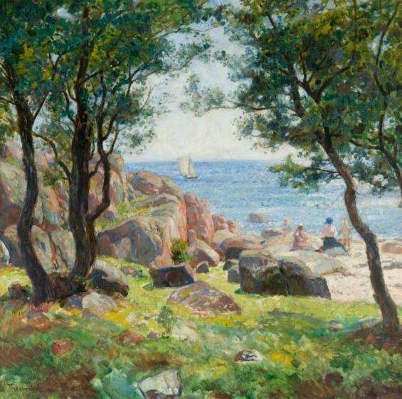Summer Day Thorolf Holmboe