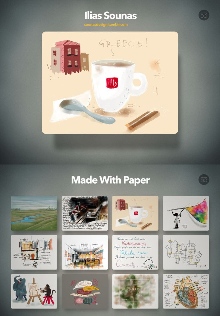 I just updated the latest Paper app version on iPad and there was a nice surprise! Zoom function and one of my drawings featured on their gallery. Great!