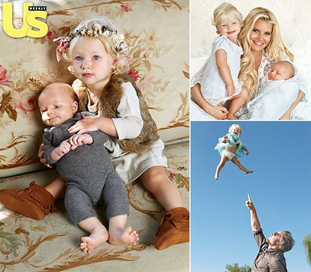 Jessica Simpson's Family Album: At Home With Maxwell, Baby Ace, and Eric Johnson
