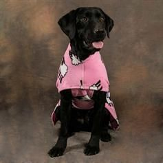 Dogs' Body - Keep Warm Dog Coat - Pink Sheep