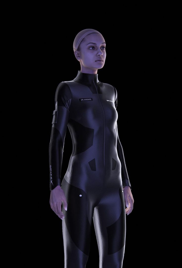 French designer Clément Balavoine has designed flight suits that can be precisely tailored to support the musculoskeletal system of SpaceX travellers.