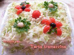 TORTA TRAMEZZINO, ricetta delle feste