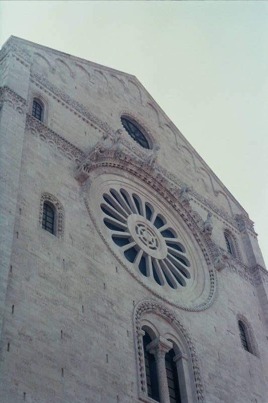 Bari Cathedral, facade
