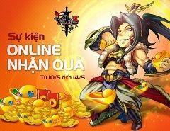 Sự kiện Online nhận quà cho game thủ Võ Lâm 3 http://taigamevolam3.vn/