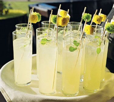 LEMONADE:  1 cup Countrytime Lemonade mix, 2 cups cold water, 1 can of chilled pineapple juice {46 oz}, 2 cans chilled Sprite.