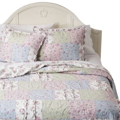 Simply Shabby Chic® Ditsy Patchwork Quilt - Multi