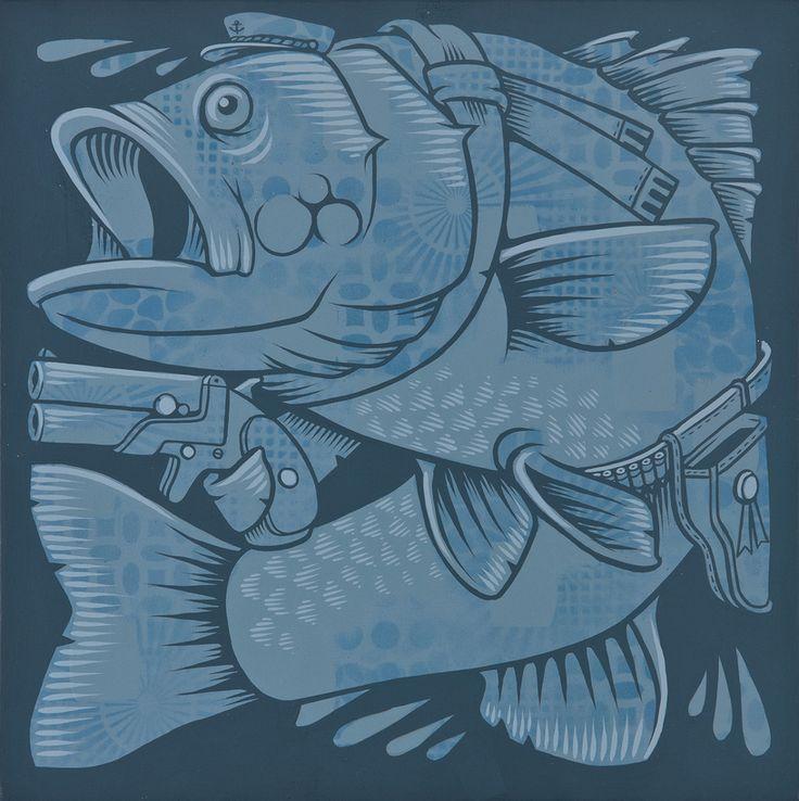 18 best artist jeremy fish images on pinterest fish for Jeremy fish art
