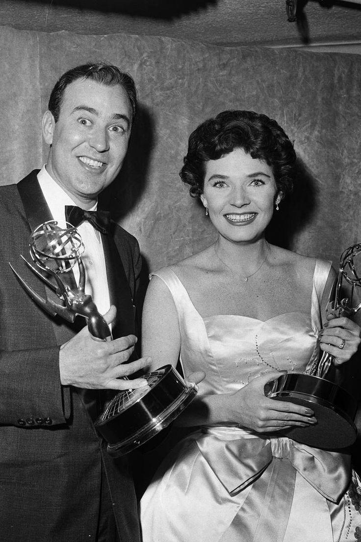 Carl Reiner & Polly Bergen: 1958