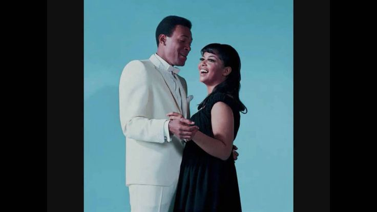 Marvin Gaye with Tammi Terrell   You're all I need to get by