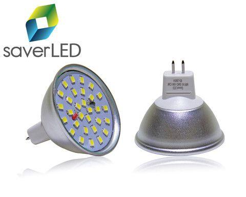 Foco LED, tipo Spotlight 6W SMD, remplazo directo de foco halogeno de 50W