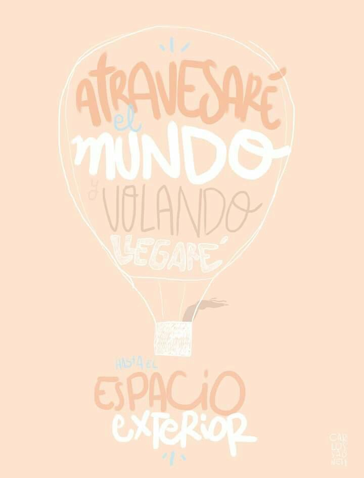 Atravesaré el mundo y volando llegaré hasta el espacio exterior..~ Groenlandia - Carlos Sadness