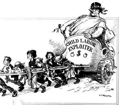 exploiting children through child labor in the 19th century america With nothing but a thin piece of plastic hosing to breathe through, most children working  but if they surface too quickly, the child  'america last vs.
