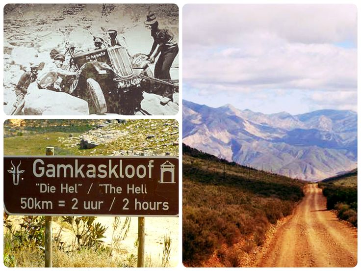 One of the iconic pilgrim passes Gamkaskloof (to Die Hel)  http://www.mountainpassessouthafrica.co.za/find-a-pass/western-cape/item/103-gamkaskloof-to-die-hel.html?utm_content=bufferf0e6a&utm_medium=social&utm_source=pinterest.com&utm_campaign=buffer more here http://ctwn.info/1EuGAUl?utm_content=buffer2b1db&utm_medium=social&utm_source=pinterest.com&utm_campaign=buffer