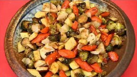 Asian-style roasted winter vegetables | TWC News Recipes | Pinterest