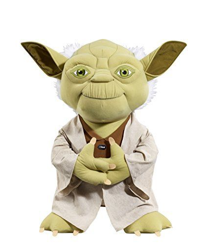 Underground Toys Star Wars Super Deluxe Talking Yoda 24 Plush ** Want to know more, click on the image.
