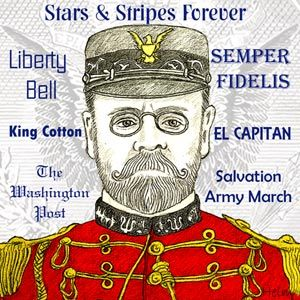 """Biography of John Philip Sousa, 1854 - 1932, American composer, bandmaster, arranger and writer known as """"The March King"""". He composed 136 marches including """"The Stars and Stripes Forever"""" - the national march of America."""