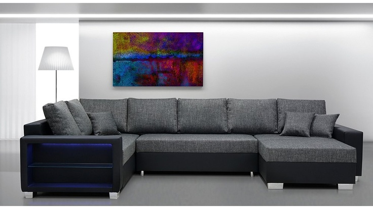 xl wohnlandschaft wilma mit longchair big sofa wohnzimmer living room. Black Bedroom Furniture Sets. Home Design Ideas