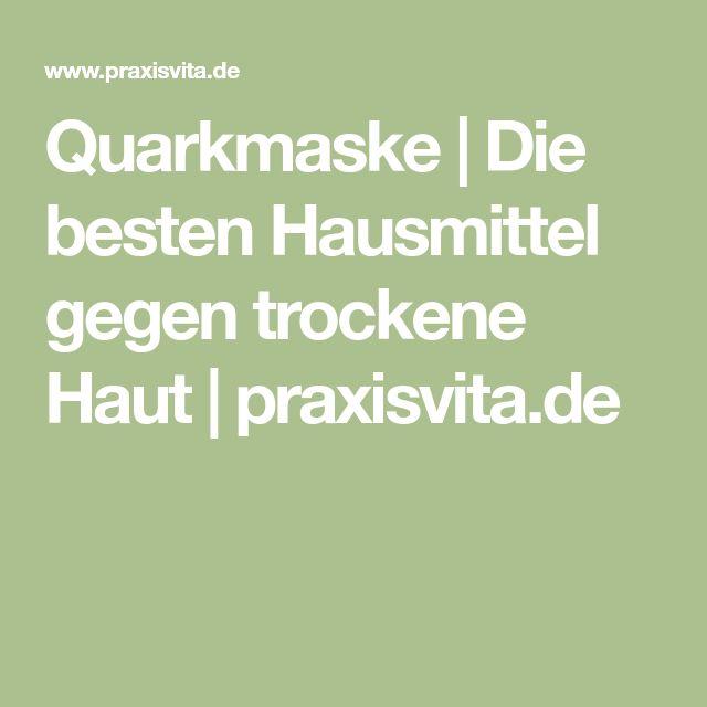 Quarkmaske | Die besten Hausmittel gegen trockene Haut | praxisvita.de