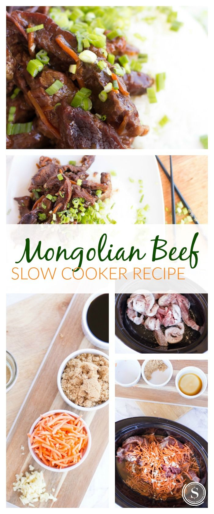 Mongolian beef slow cooker recipe easy crockpot meal idea for busy