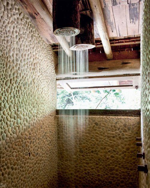 bamboo showerheads