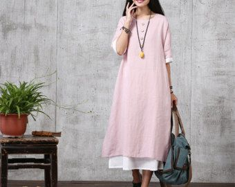 Loose Fitting Long Maxi Dress Summer Dress in by deboy2000