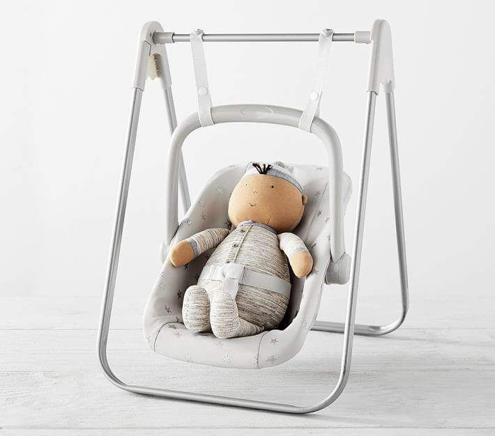 Pottery Barn Kids Soft Swing Set Gray Stars Kids Soft