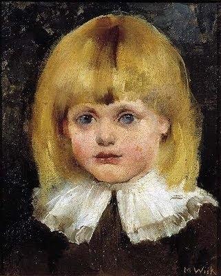 Maria Wiik, Hilja Tukiainen 1884,
