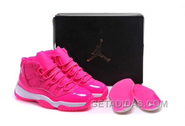 """http://www.getadidas.com/2017-air-jordan-11-gs-pink-everything-pink-white-shoes-online-n4bcc5.html 2017 AIR JORDAN 11 GS """"PINK EVERYTHING"""" PINK WHITE SHOES ONLINE N4BCC5 Only $91.00 , Free Shipping!"""