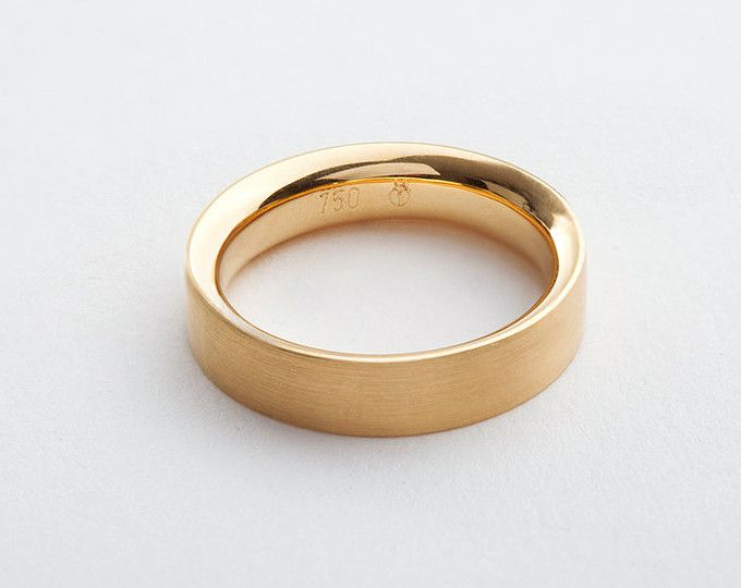 Cool Man Gold Wedding Band Comfort Fit Wide Wedding Ring for Man k Yellow Gold