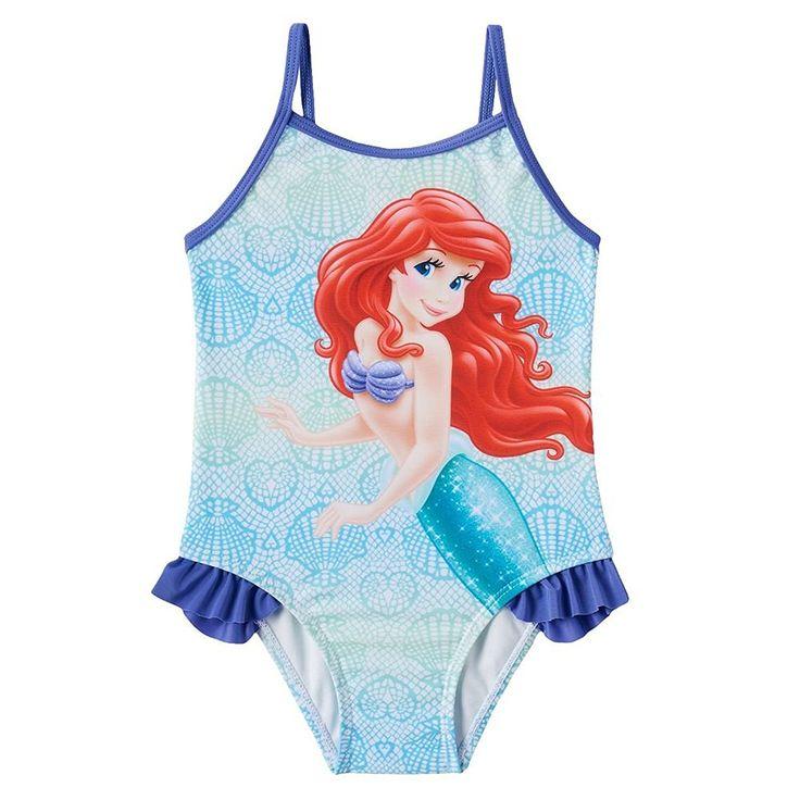 Disney's The Little Mermaid Ariel Toddler Girl One-Piece Swimsuit