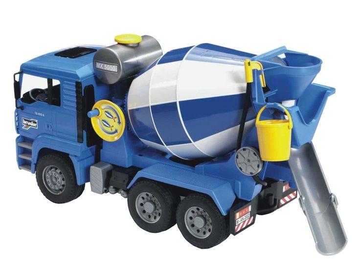Bruder Man Cement Mixer Standard Packaging