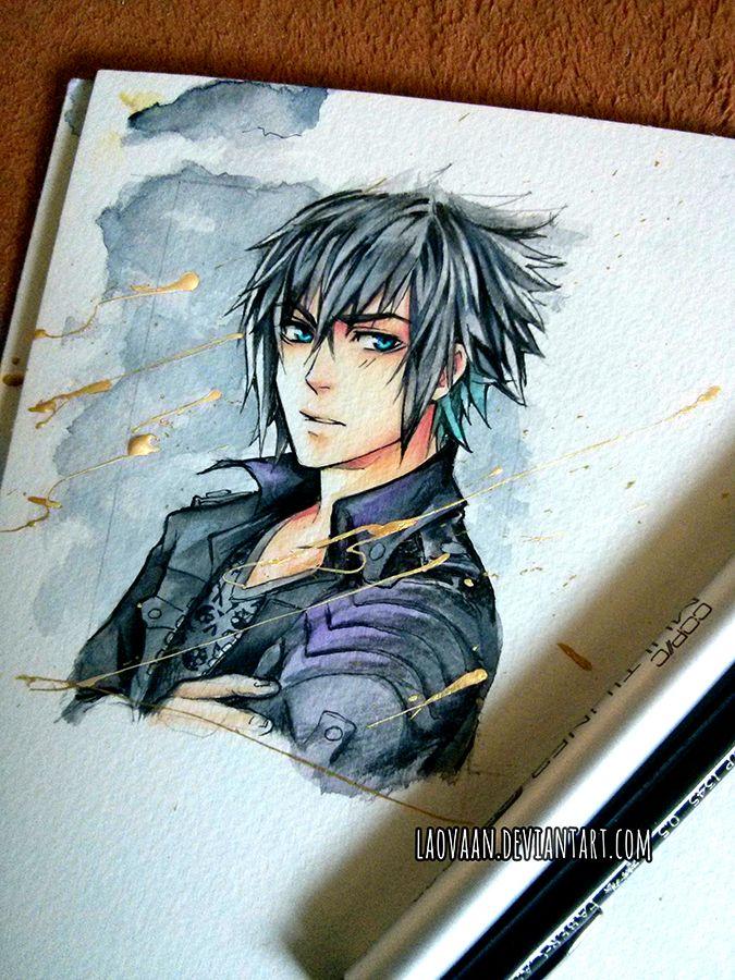 Noctis - Final Fantasy XV by Laovaan.deviantart.com on @DeviantArt