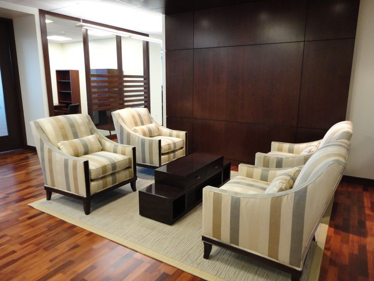 Century style clean and classic small office lobby