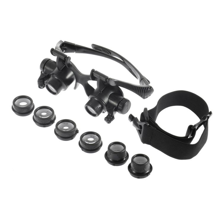 Magnifier Loupe 10X 15X 20X 25X Lens Jeweler Watch Repair Magnifying Glasses NEWBrand New