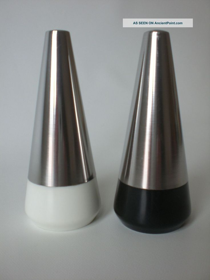 60s Lone Sachs Salt & Pepper Danish Modern Lundtofte / Dkf Tias Eckhoff Herlow Mid-Century Modernism photo
