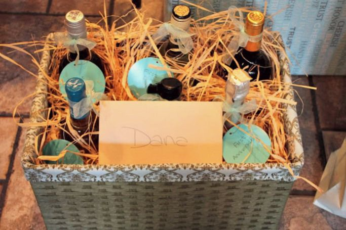 special occassion alcohol gift basket