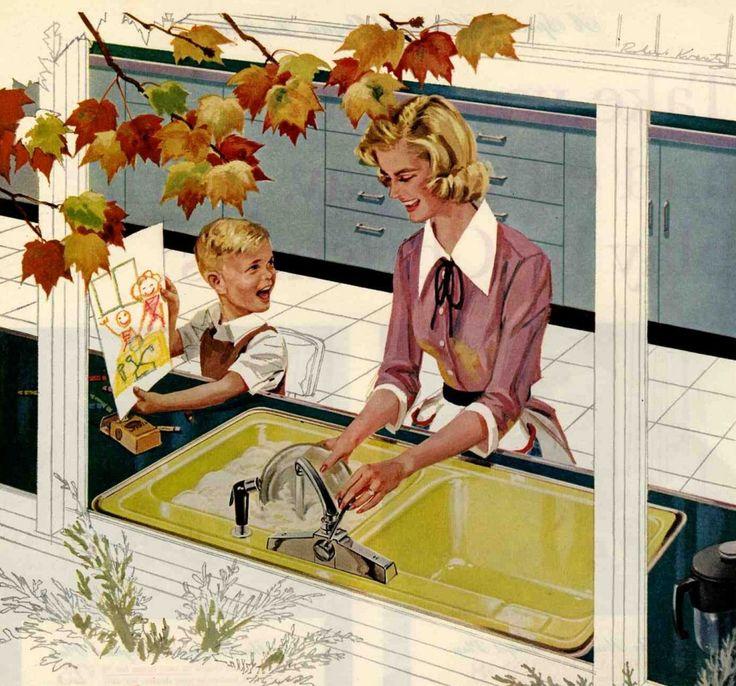 The Evolution of the Modern Kitchen Sink @ Retro Renovation
