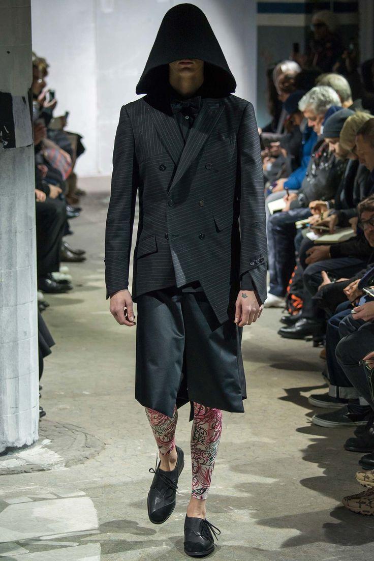 Comme des Garçons Fall 2015 Menswear Fashion Show