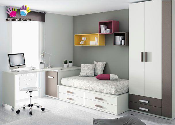 Habitación Juvenil con compacto 303-282014