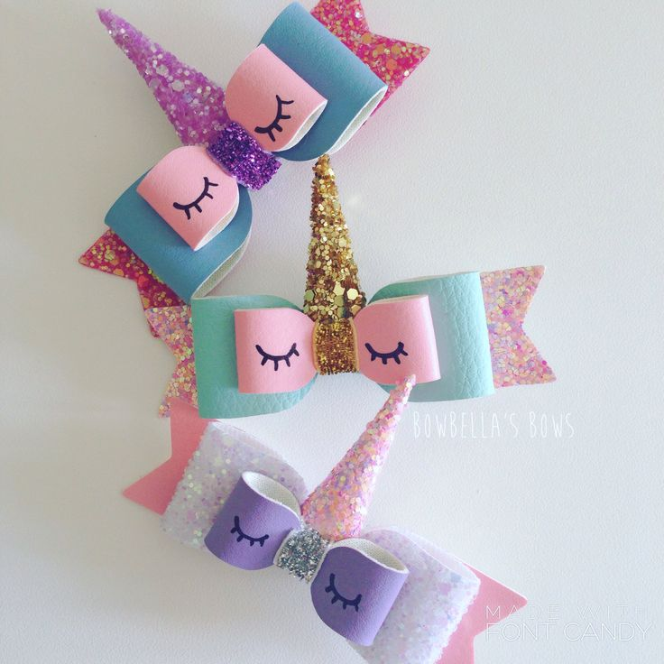 Have you seen the new unicorn bows at BowBella's Bows?! Available to buy now! They are customisable too! Get yours at www.bowbellasbows.bigcartel.com