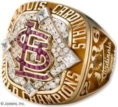 St. Louis Cardinals 2006 World Series Championship Ring