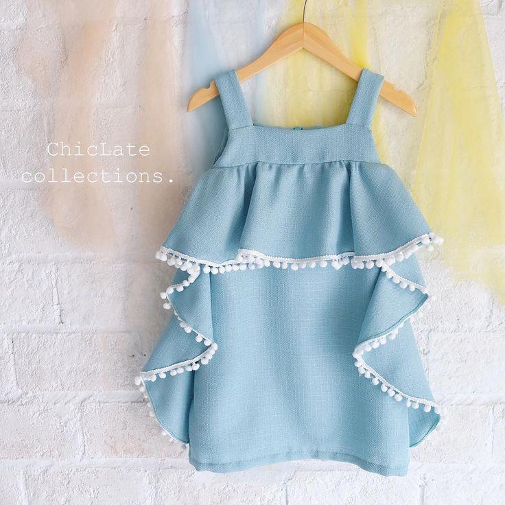 ---Amber dress--- idr 398.000 0-5y #instakids #kidsootd #honeybeekids #honeybee_kids #chiclatecollections