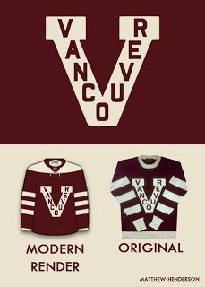 The Inside Scoop: Vancouver Canucks Third Jersey - Millionaires Style