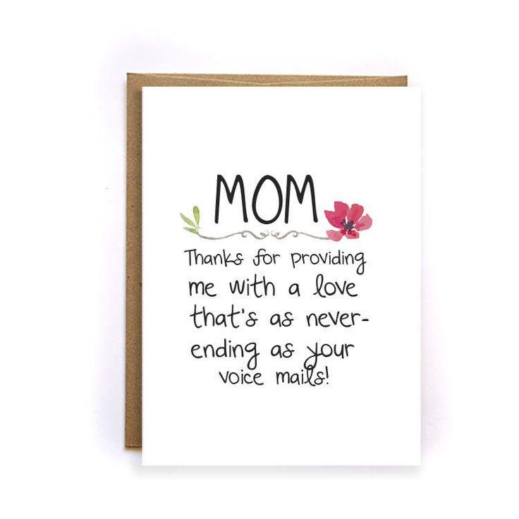 The 25 best Mom birthday funny ideas – Birthday Card for Moms