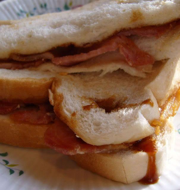 The Worlds Best Bacon Buttie