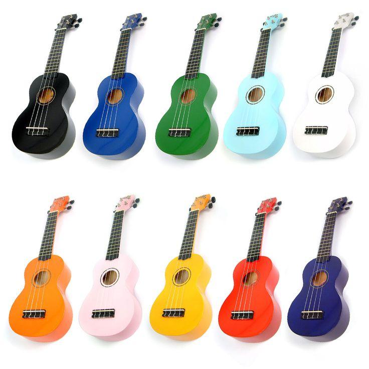 Korala UKS-30 painted soprano ukulele - Uke Boutique