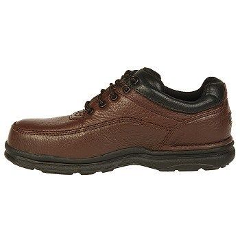 Rockport Works Men's World Tour Steel Toe Work Shoes (Brown) - 13.0 W