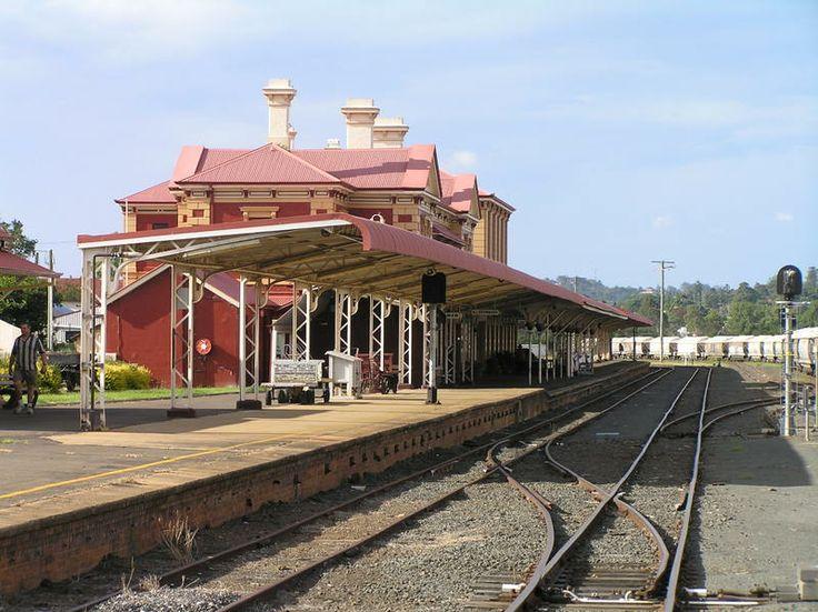 Beautiful historic railway station in #Toowoomba. #familyfun #usq #thingstodo